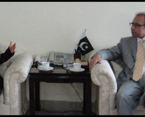 Dr. Abdul Hafeez Shaikh, Pakistan Finance Minister