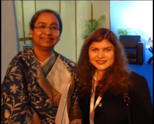 Dr. Dipu Moni, Honorable Minister of Foreign Affairs of the People's Republic of Bangladesh