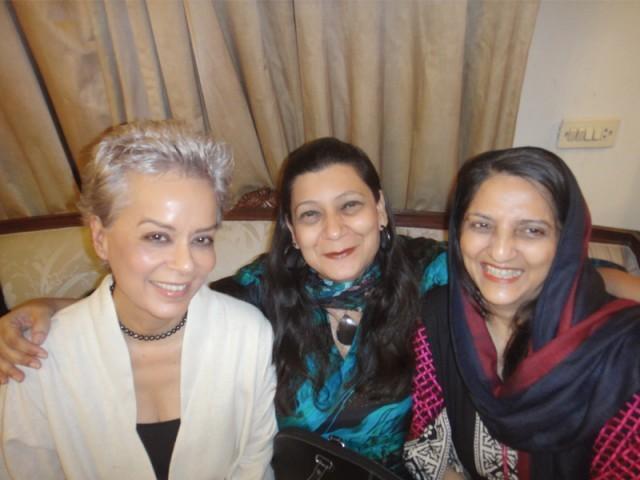Maheen Khan, Raheel Tariq and Shanaz Ramzi